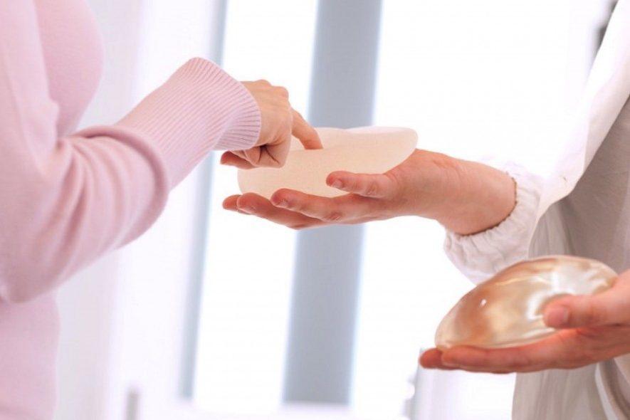Cirugía de aumento de senos, un ejemplo práctico para elegir la talla de implantes.